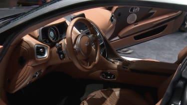 Aston Martin DB11 - Geneva show interior