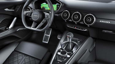 Audi TT - cabin