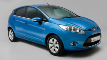 Used Ford Fiesta - front