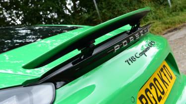 Porsche 718 Cayman GTS 4.0: long-term test review - first report spoiler