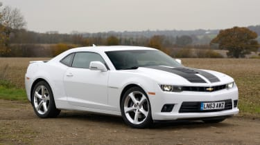 The retro themes returned to the Chevrolet Camaro family tree with the fifth generation model launched in 2010 and the Mk6 car built on that.