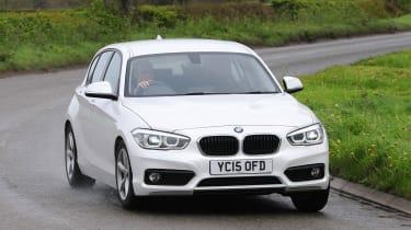 BMW 1 Series - front cornering