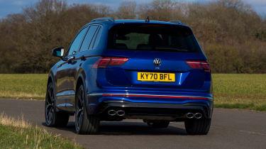 Volkswagen Tigun R - rear cornering