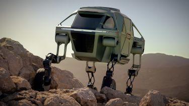 Hyundai Elevate walking car