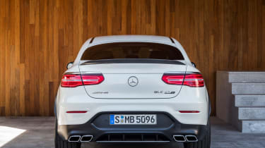 Mercedes-AMG GLC 63 Coupe rear square on