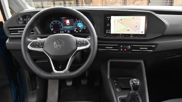 2020 Volkswagen Caddy - interior
