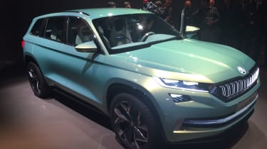 Skoda Vision S concept at Geneva 2016 - front