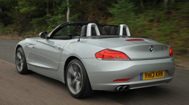 The Z4 has a complex metal folding roof, making it more secure than a fabric-roofed rival.