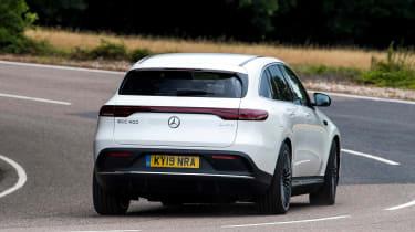 Mercedes EQC - rear cornering