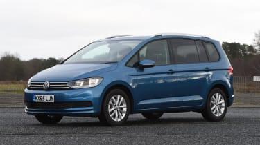 Used Volkswagen Touran - front
