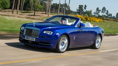 Rolls-Royce Dawn 2016 - front tracking
