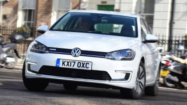 Volkswagen e-Golf - front action