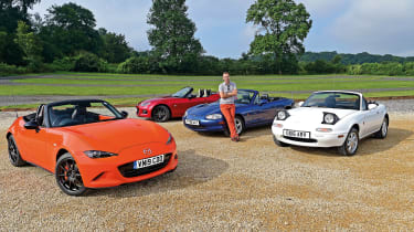 Mazda MX-5 anniversary feature