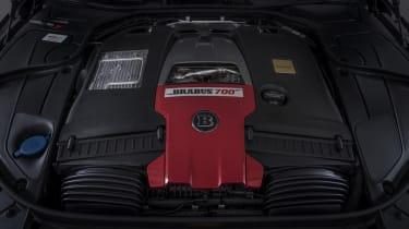 Brabus 700 engine