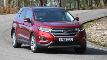 Ford Edge second report - front cornering