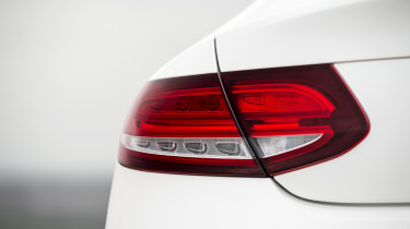 Mercedes C-Class Coupe C250d AMG Line - rear light