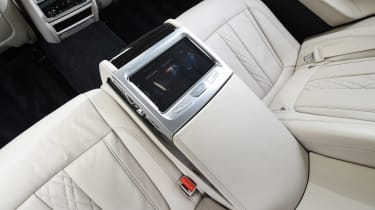 BMW 7 Series - rear centre console