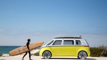 Volkswagen I.D. Buzz concept review - side
