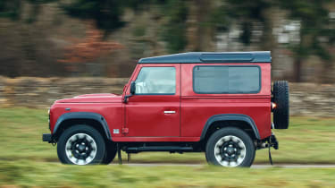 Land Rover Defender Works V8 - side
