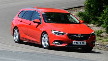 Vauxhall Insignia Sports Tourer - front cornering