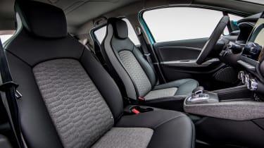 Renault ZOE - front seats