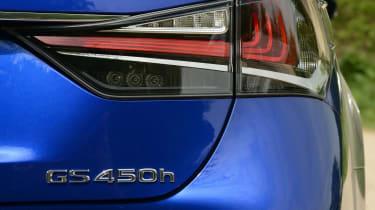 Lexus GS 450h F Sport - rear light