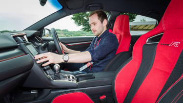 New Honda Civic Type R - Johnny Burn interior