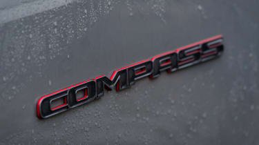 Jeep Compass Trailhawk - Compass badge