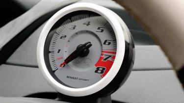 Renaultsport Twingo 133 rev counter