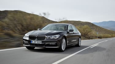 New 2015 BMW 7-Series front