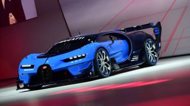 Bugatti Vision Gran Turismo Frankfurt