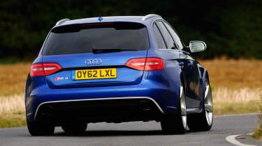 Audi RS4 rear cornering