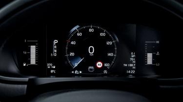 Volvo V90 Cross Country 2017 UK - instruments