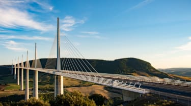 Record breaking roads - Millau Viaduct, France