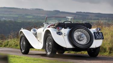 RM Sotheby's 2017 Paris auction - 1941 Jaguar SS 100 rear