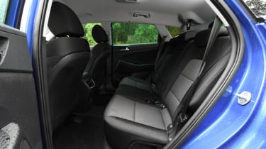 Hyundai Tucson - rear seats