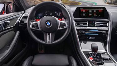 BMW M8 - dash