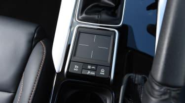 Mitsubishi Eclipse Cross - Trackpad