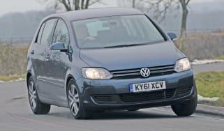Volkswagen Golf Plus front cornering