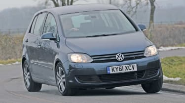 Volkswagen Golf Plus front cornering