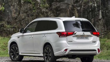 Mitsubishi Outlander PHEV 4WORK - rear