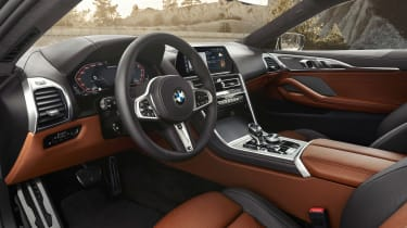 BMW 8 Series - dash