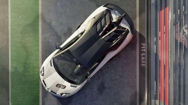 Lamborghini Aventador SVJ 63 - above