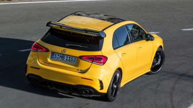 Mercedes-AMG A 35 - rear cornering