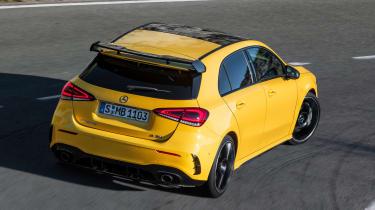 Mercedes-AMG A 35 - rear cornering