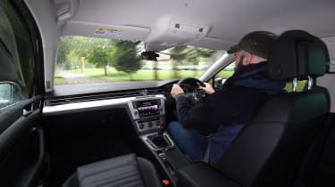 Long-term test review Volkswagen Passat Estate - Darren driving