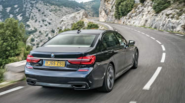 BMW 740Ld xDrive - rear