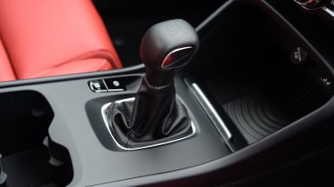 Volvo XC40 T3 - gear lever
