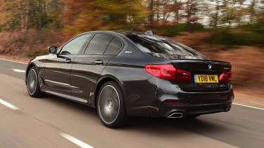 BMW 530e - rear