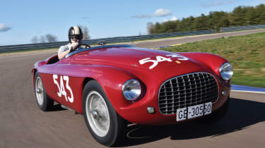 A spectacular example of an early racing Ferrari, this Ferrari 21 Export Barchetta is the last Touring-bodied example of its kind. Having competed in the Targa Florio in 1952 and 1953, the car is still eligible to enter into many class